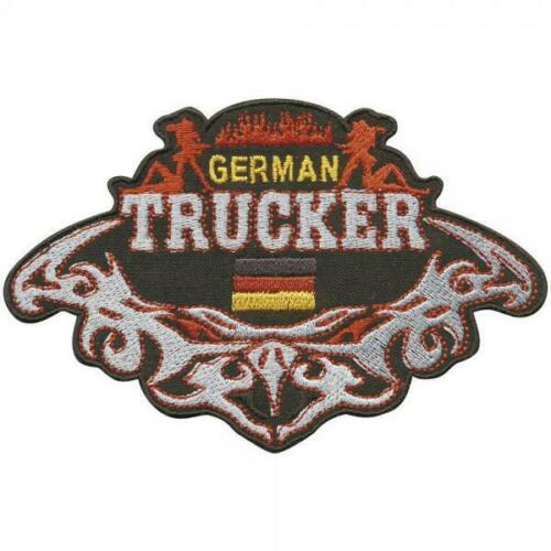 German  Trucker Patches Stick  ... 04344 Aufnäher 12 x 8 cm Gr ca