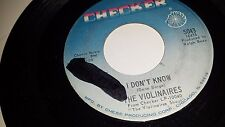 """THE VIOLINAIRES Call On Him / I Don't Know CHECKER 5043 GOSPEL 45 7"""""""
