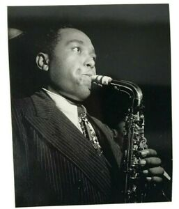 postcard-photo-charlie-parker-1948-by-william-gotllieb-saxophone-play-music