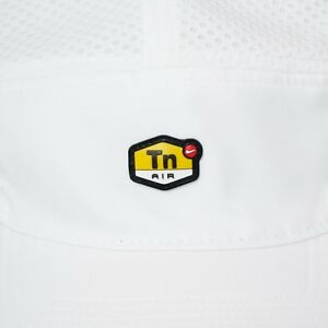 Nike TN Air Max Plus Aerobill AW84 Reflective Running Hat Cap White ... 3e80da526fd