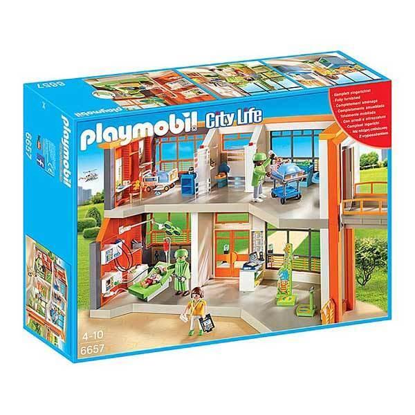Hôpital pédiatrique aménagé - - - Playmobil City e710d0