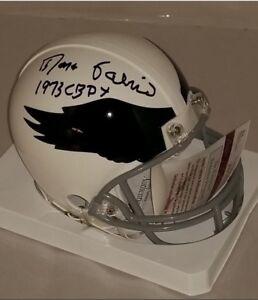 09708e27cd0 Image is loading Philadelphia-Eagles-Roman-Gabriel-signed -Riddell-Mini-Helmet-