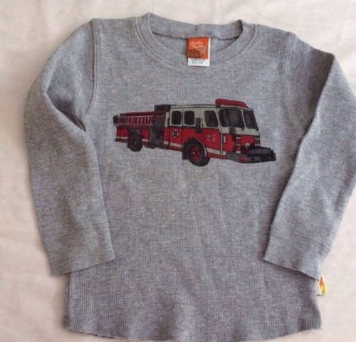 Boys Boutique 9-12 months Charlie Rocket Fire Truck Shirt NEW NWT L//S Thermal