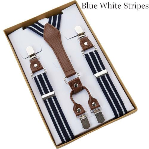 Pants Suspenders Men Women Braces Supports Straps Elastic Adjustable Clothing