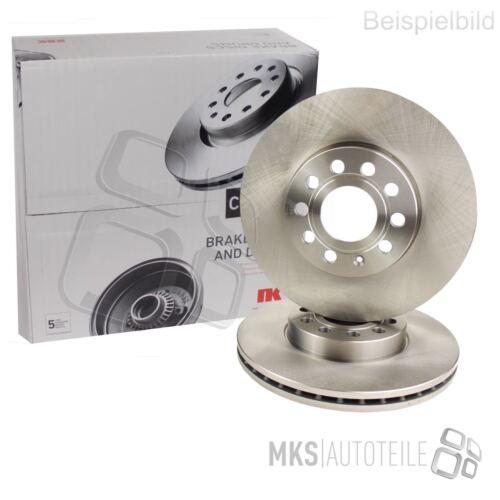 2 x NK discos de freno delantero ventilado adecuado para Opel subaru suzuki 3426326