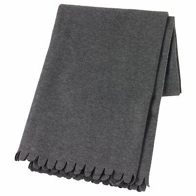 IKEA vitmossa Throw Blanket Gris Polaire en polyester 120x160cm