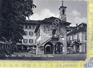 Cartolina-Postcard-Orta-Palazzo-Comunale-Bar-Delizia-anni-039-50