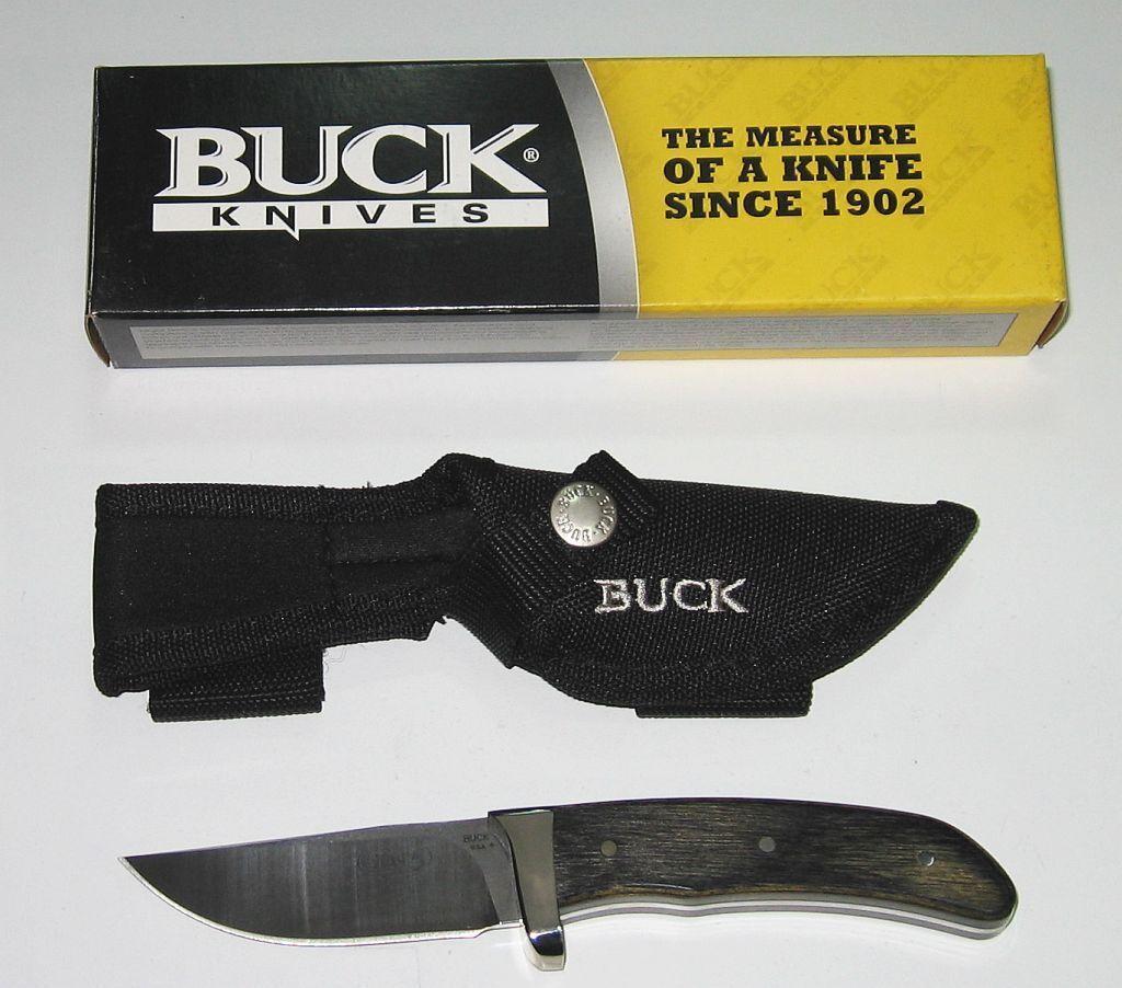 Buck Knive Skinner Gen 5 caccia coltellino da 2008 Nuovo Scatola Originale