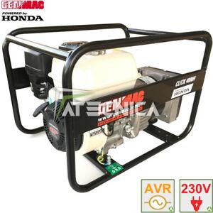 Générateur de courant HONDA 3,1Kw GENMAC CLICK AVR  générateur stabilisé
