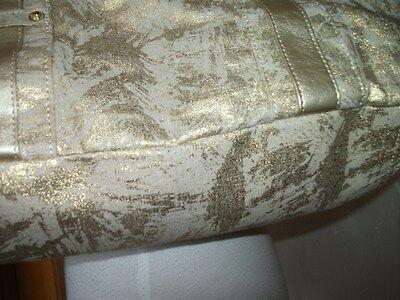 Orig. BONITA - moderne, reizende Schulter-Tasche mit Goldeffekt NEU