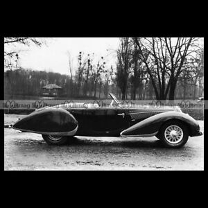 #pha.021676 Photo DELAHAYE 135 SPORT ROADSTER 1938 Car Auto lPjopJJl-08034305-210369785