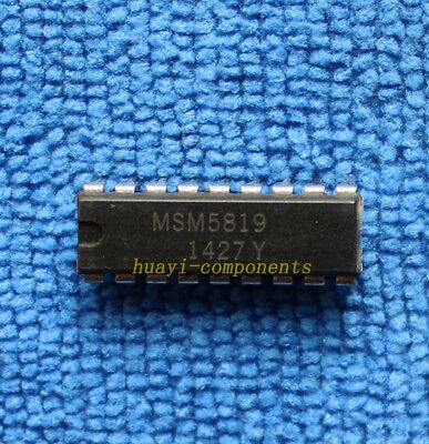 MSM5819 Package:DIP-18 New