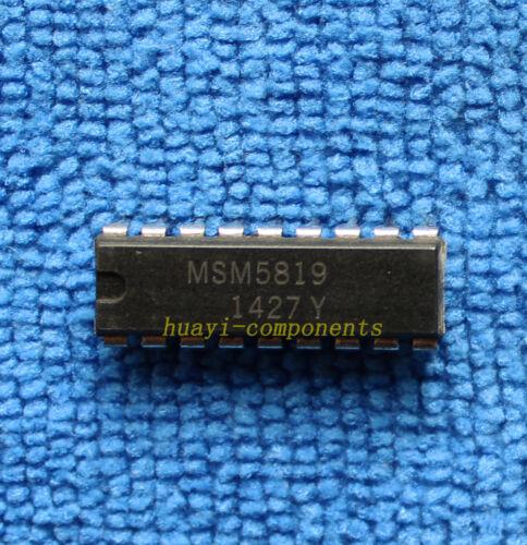 1pcs MSM5819 DIP-18 IC