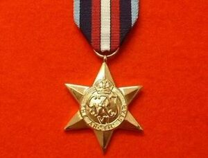 Full-Size-World-War-II-Arctic-Star-WW-2-Military-Medals-Arctic-Star-Medal