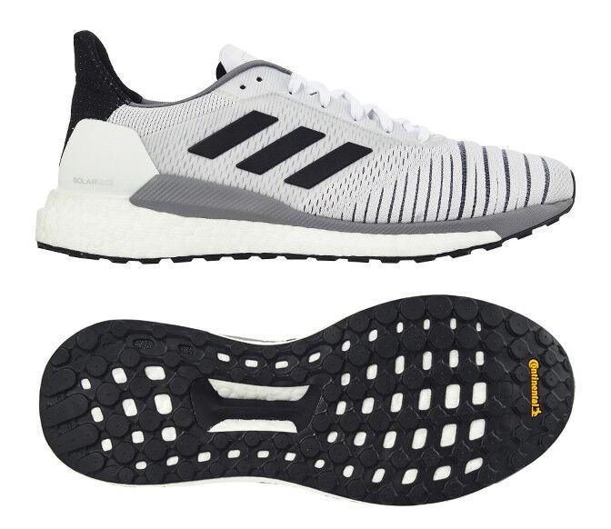Adidas SOLAR GLIDE Men's Running shoes White Fitness Gym Walking NWT CQ3177