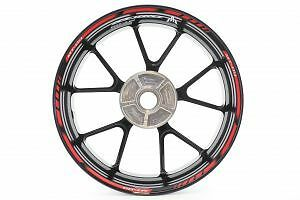 Rimstriping Yamaha MT Tracer Red Wheel Stripes Motorcycle - Motorcycle stickers