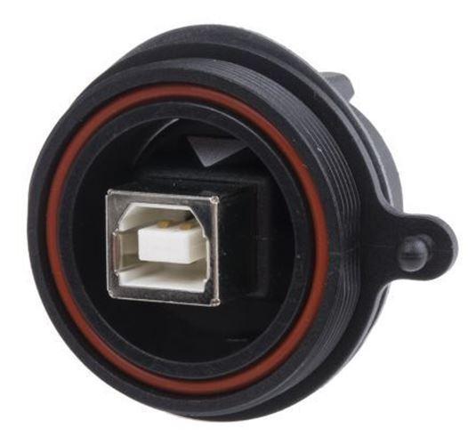 Bulgin Droit Panneau Support Femelle Version 2.0 Type B Connecteur USB,30 V