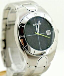 Stainless Watch Reloj De Steel Ny5000 Atm Detalles Sport Fashion Dkny Date 10 ebD29EIYWH