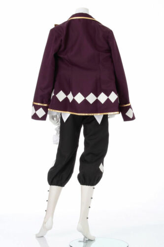 Black Butler Joker Cosplay Costume Tailor Made:Free shipping