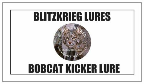 TRAPPING LURE-6 OZ BLITZKRIEG LURES-BOBCAT KICKER