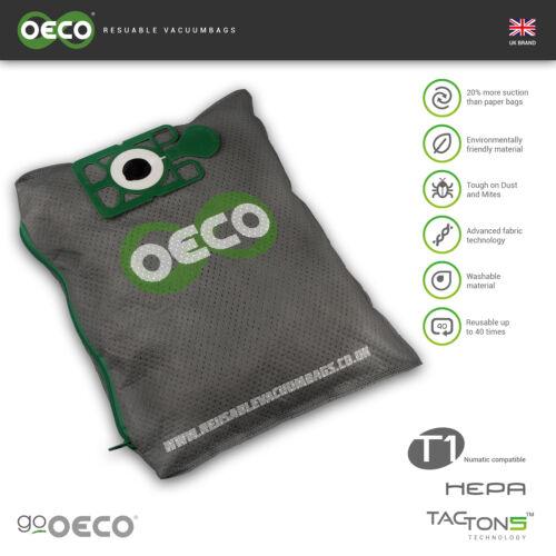 OECO®  Karcher Reusable hoover vacuum dust bag 10/1 T 7/1 T 9/1 T 10/1 T 12/1