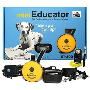 Details about E-Collar Technologies Mini Educator Remote Trainer ET-300 CAR  CHARGER FREE!
