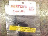 F1 Rare 1 On Ebay 6 Pk Vintage Herter's Black Gnat Fly Fishing Flies Wow