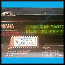 Yamaha TX81Z firmware OS upgrade: version 1.6