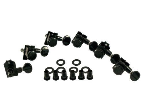 Kluson Revolution H Style Locking Tuners Black KTL-3805BL