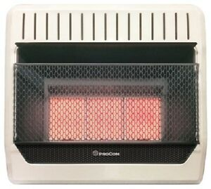 Procom Ml3phg 28 000 Btu Vent Free Propane Lp Gas Infrared Wall Heater Ebay