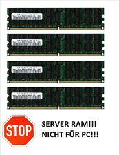 4x 4GB 16GB RAM 2Rx4 ECC RDIMM Registered Speicher 800 Mhz DDR2 PC2-6400P REG