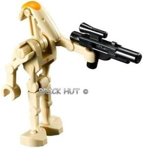 LEGO-STAR-WARS-BATTLE-DROID-COMMANDER-FIGURE-GIFT-RARE-9515-2012-NEW