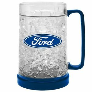 FORD Gel Ezy Freeze Beer Drink Mug Stein Bar Man Cave Christmas Fathers Gift