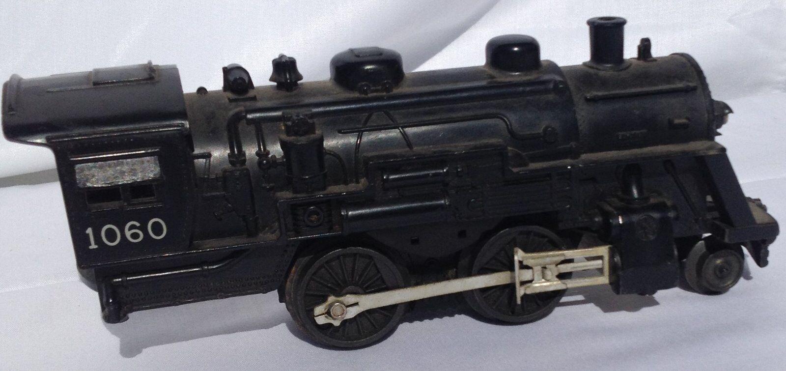 Vintage Vintage Vintage  Lionel  0 gauge toy railroad train locomotive, 9  long 54fb28