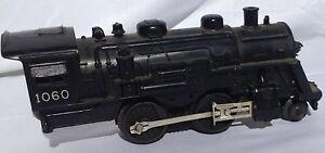 """vintage """"Lionel"""" 0 gauge toy railroad train locomotive, 9"""" long"""