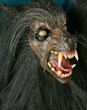 The Lycanthrope Latex Display Mask Werewolf Lycan Horror Bust Creature Howling