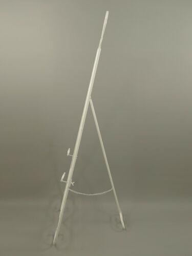 Staffelei Antik Eisen rostig altweiss H.152x48cm Bastel Künstlerbedarf Geschenk