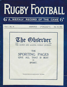 12-Jan-1924-Vol-1-No-19-RUGBY-FOOTBALL-MAGAZINE