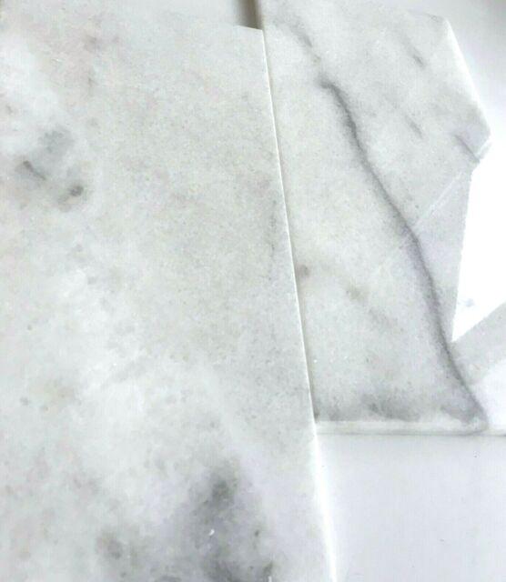 Straight Edge Marble Tile Backsplash