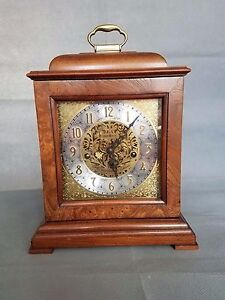 Exceptionnel Image Is Loading Howard Miller 59th Anniversary Key Wound Mantel Clock