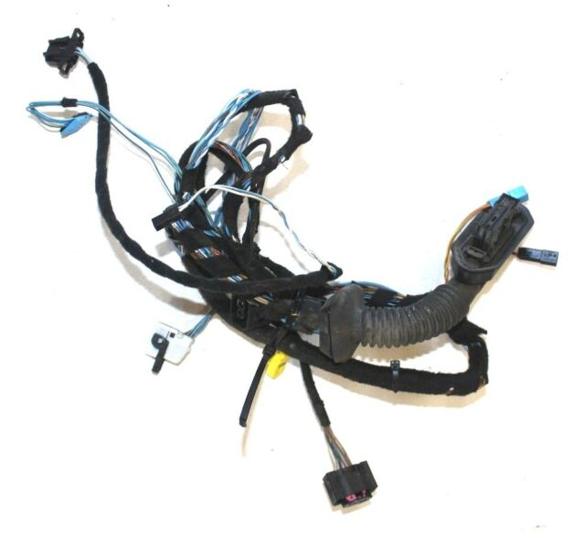 bmw oem e46 front door wiring harness driver cable left 61116902773 rh ebay com