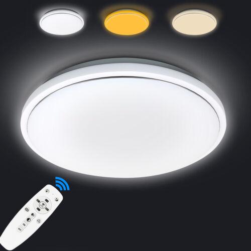 20//62W Ultraslim LED Deckenleuchte Dimmbar Wandlampe Flurleuchte Wohnzimmer IP54
