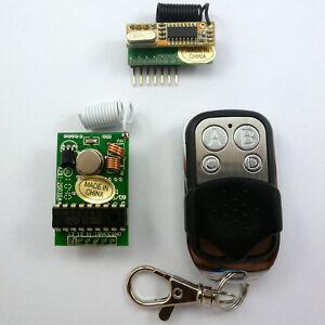DIY-4-Channels-Wireless-Wall-Panel-Switch-RF-Remote-Control-Handy-MCU-Arduino