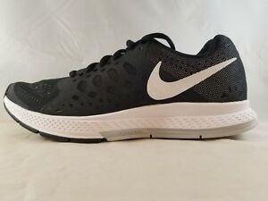 classic fit fdd87 1acba Details about Nike Air Force Zoom Pegasus 31 Mens Black/White Running Shoe  652925 010 Size 6.5