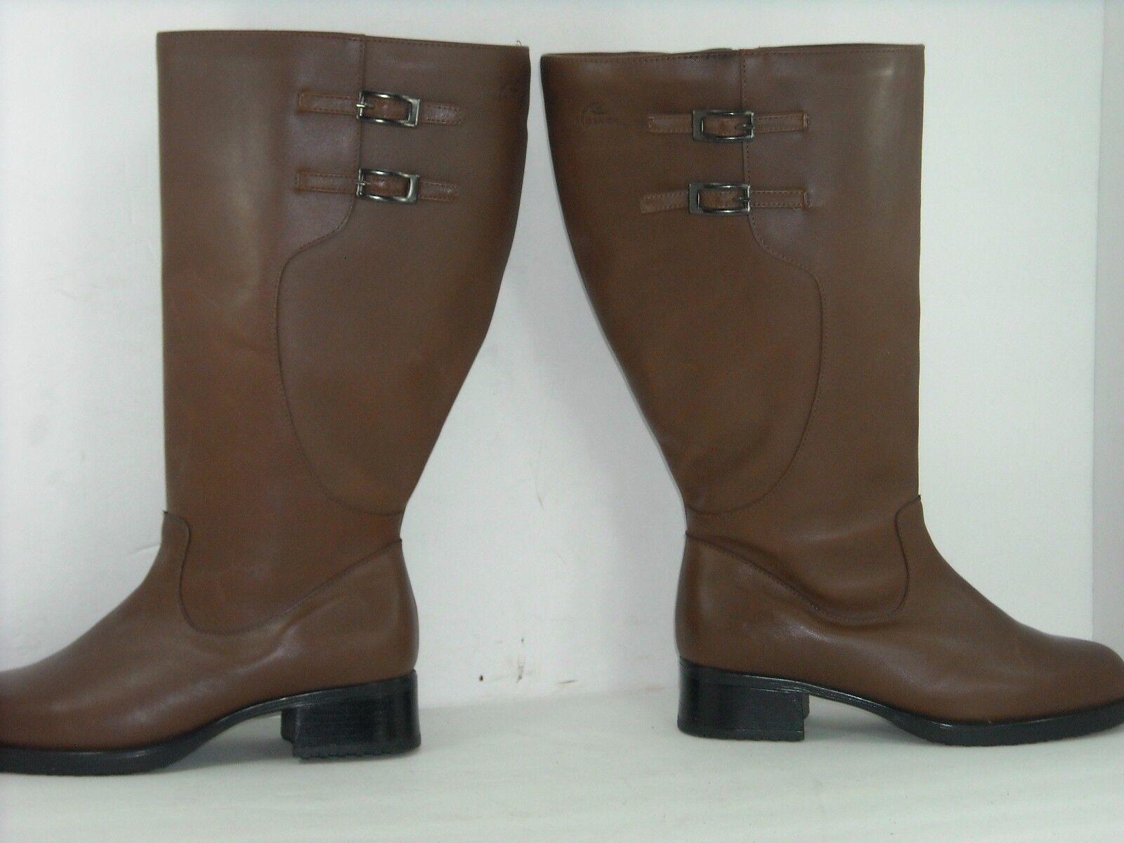 REGENCE Stiefel FLEECE BROWNS NEW SIZE 8 D FLEECE Stiefel INSIDE Damenschuhe WIDE efba47