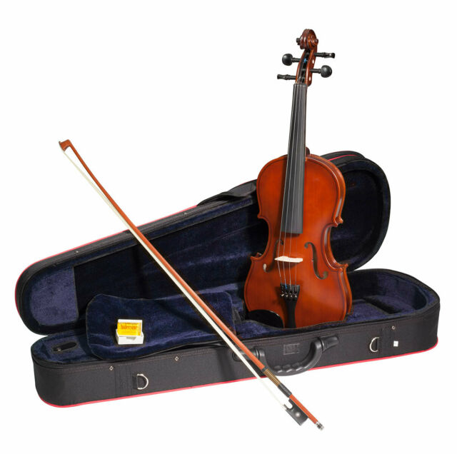 NEW: Hidersine Inizio Violin Outfit 🎻 1/4 Size 🎻 Violin, Bow & Hard Foam Case