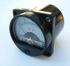 Illuminated mini 100mA Bias Meter fr Valve Tube Amplifier EL34 6L6 back lit SD39