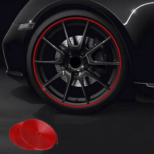 8M-Motorcycle-Car-Reflective-Wheel-Hub-Tire-Rims-Protective-Sticker-Decal-WX
