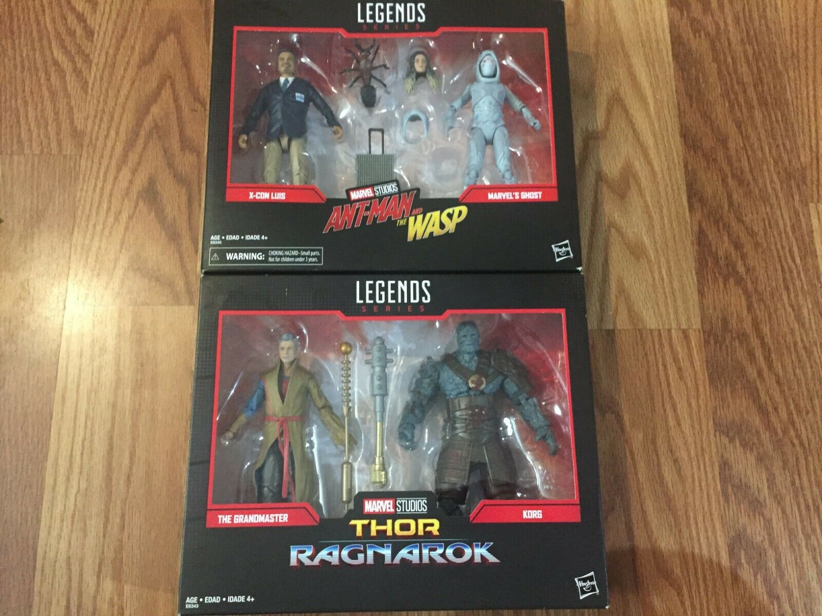 Marvel Legends Series Lot X-Con Luis, Ghost, Grandmaster & Korg