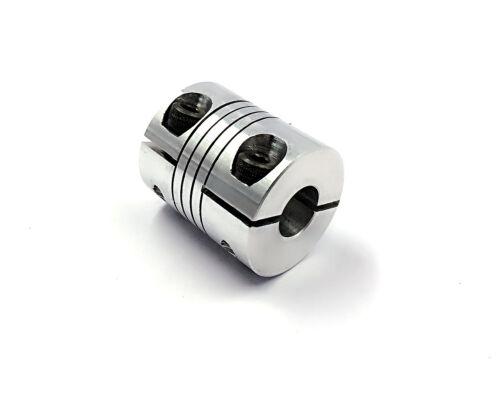 1 of  BR5mm x 5mm CNC Stepper Motor Flexible Coupling Coupler D20 L25 SN-T
